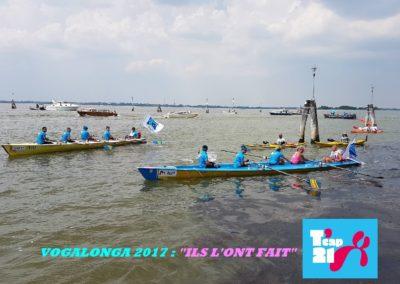 T'cap 21 à la Vogalonga 2017