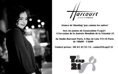 La Journée Mondiale de la Trisomie 21 au Studio Harcourt Paris