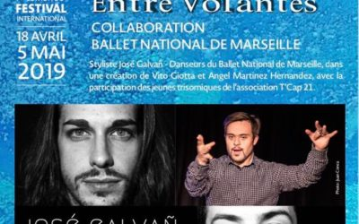 Exposition Performance – « Entre Volantes » – Flamenco Azul