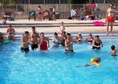 Moment de détente à la piscine de Forcalquier