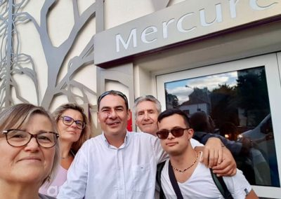 Arrivee au Mercure Suresnes Lonchamp, notre hotel partenaire