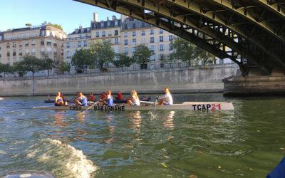 Traversée de Paris à la Rame 2019