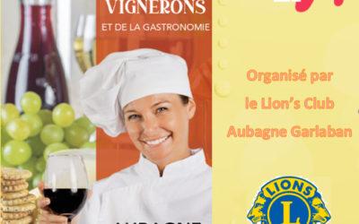Participation au salon du vin et de la gastronomie d'Aubagne